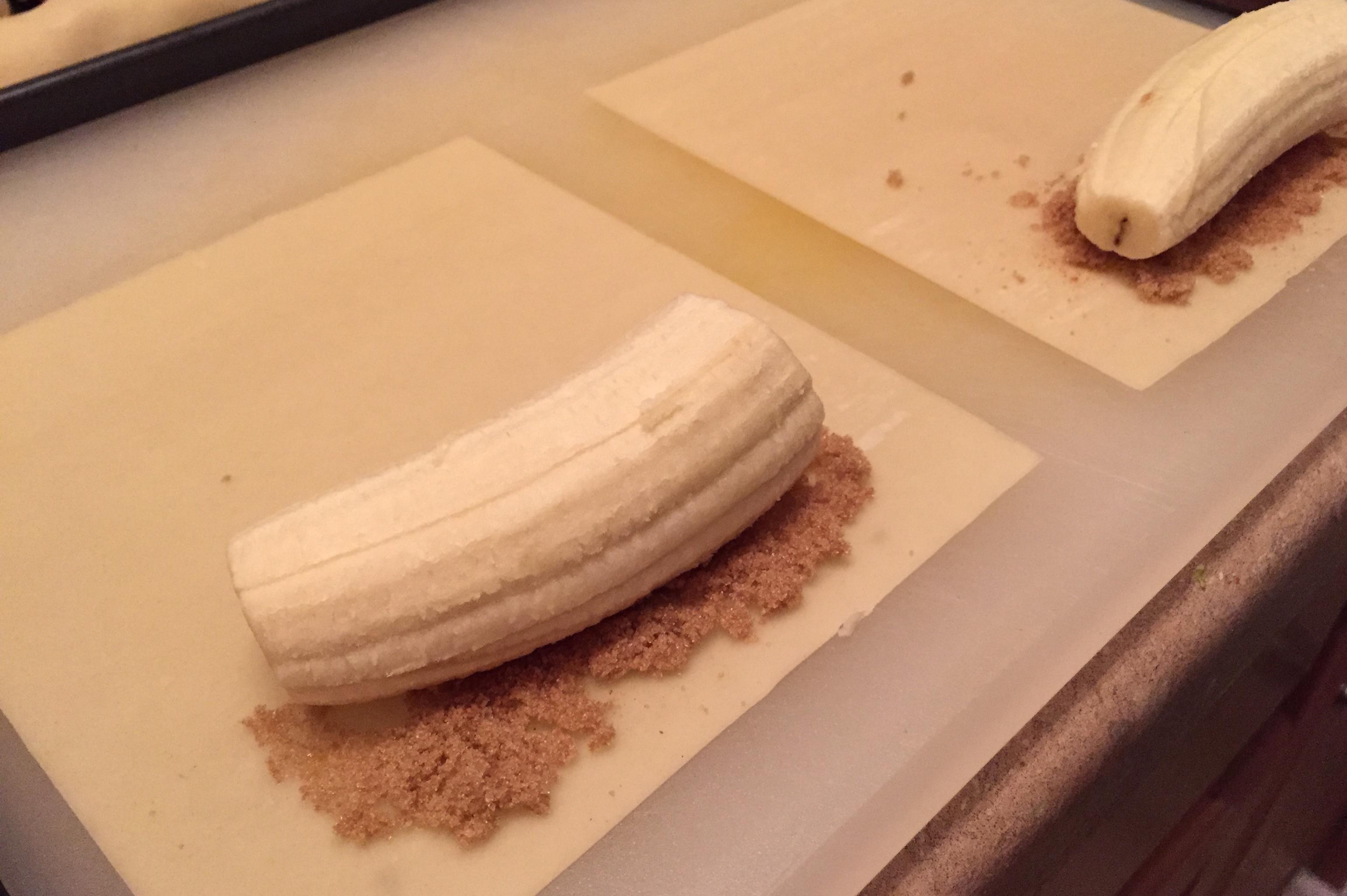 Banana Spring Rolls