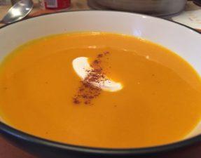 Butternut Sqaush Soup