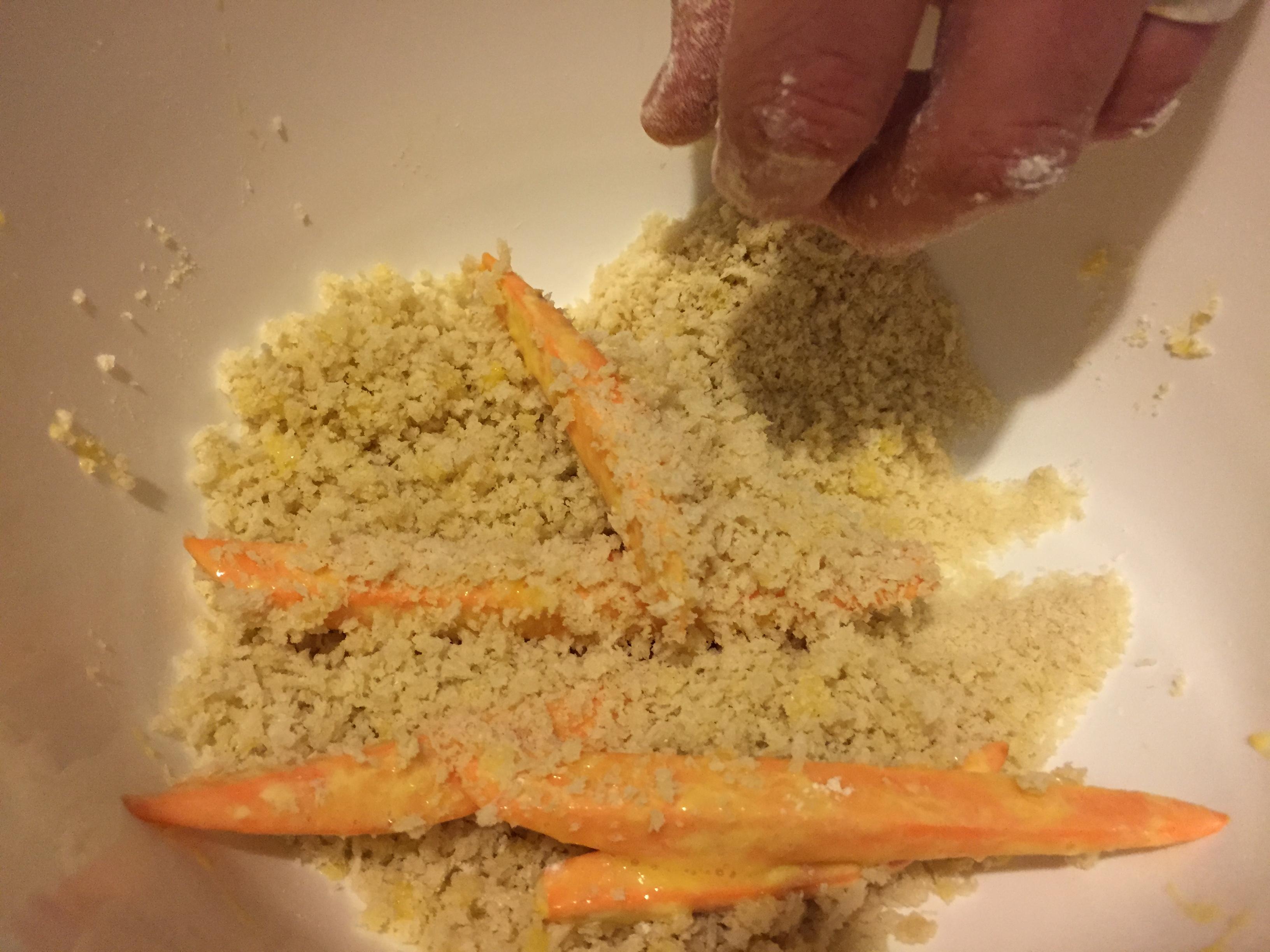 Coated Sweet Potatoe