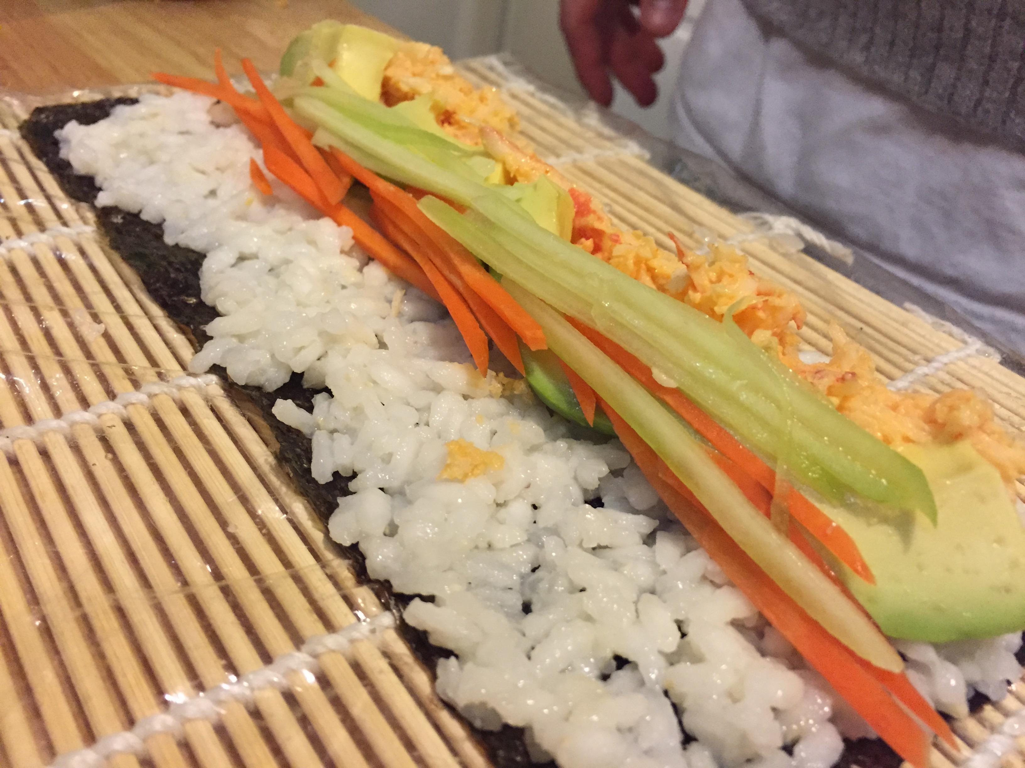 Spicy Crab Sushi