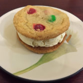 Cookie Ice Cream Sandwich