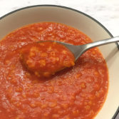 Alphabet Tomato Soup