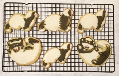 Ferret Cookies