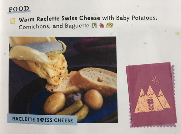 EPCOT Food and Wine Festival Raclette